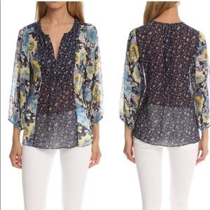 Soft Joie Printed Thistle Top
